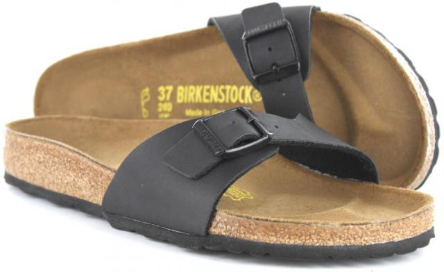 birkenstock madrid sort