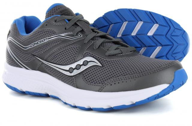 Saucony - Grid Cohesion 11 Charcoal Blue c84ae869959