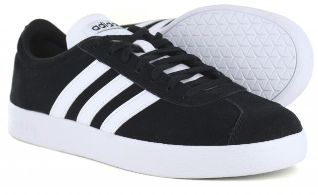 716fe5282e2 Adidas - VL Court 2.0 Black White