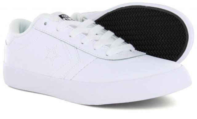 eb3389c2cdec49 Converse - Point Star Ox White (Men s)