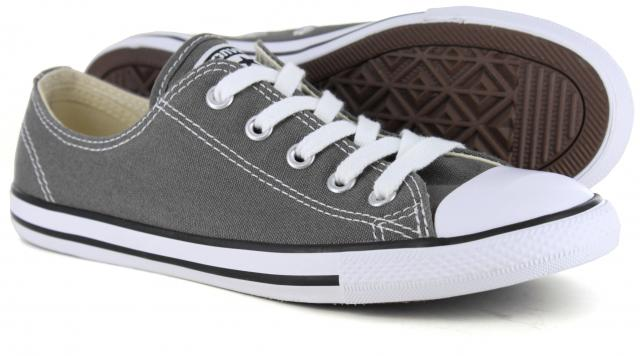converse dainty ox charcoal
