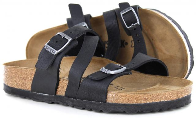09ec5884e0d Birkenstock - Salina Camberra Old Black Leather Regular