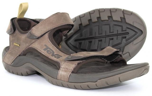 dbdaee607c2aca Teva - Tanza Leather Brown