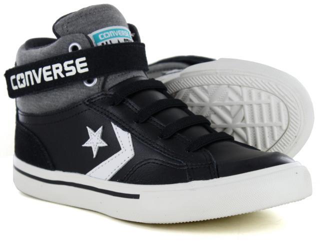 f9ccc6e7828e Converse - Pro Blaze Strap Hi Black Storm Grey