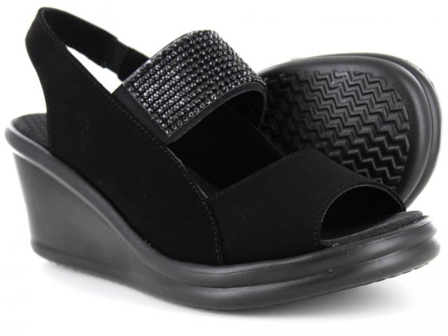 077ca9a97602 Skechers - Rumblers Sparkle On Black