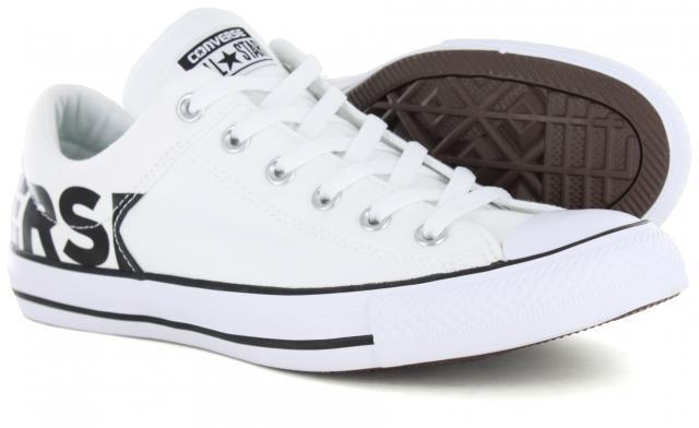 Converse - CTAS High Street Ox White Black White 488b79711