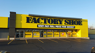 Factory Shoe Hours Kitchener